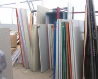 Commercial Washroom Stall Doors and Wall Panels