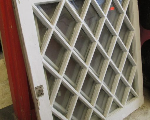 Vintage Diamond Pane Windows
