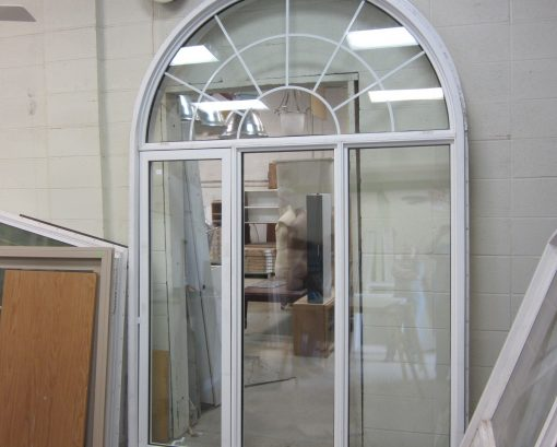 Arched Window with One Opening