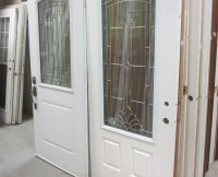 Exterior Doors with Glass Inserts