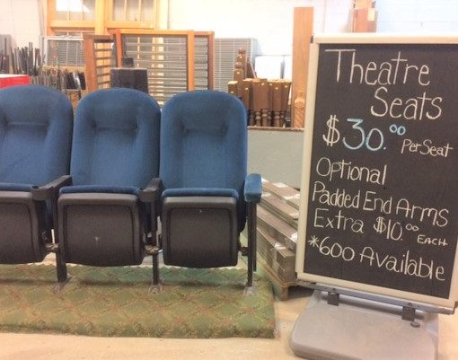 Theater Chairs – Priced Reduced