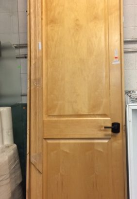 Commercial Door – Maple