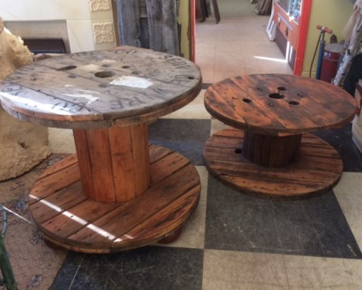 Spool Coffee Tables