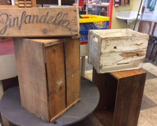 Wooden Boxes – Collectibles