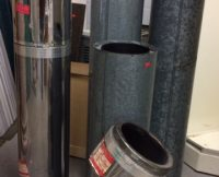 Chimney Pipe – Insulated – various sizes & various prices