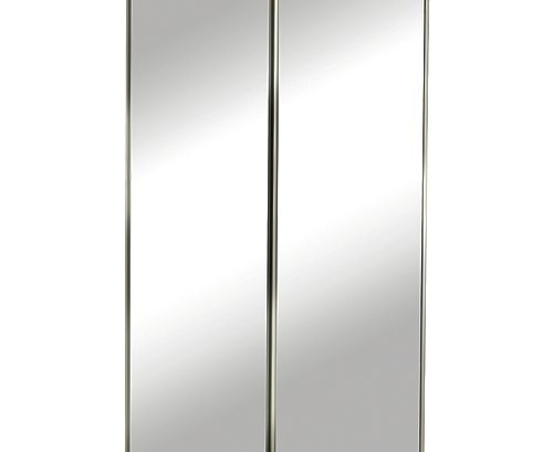 Mirrored Closet Doors -By Pass