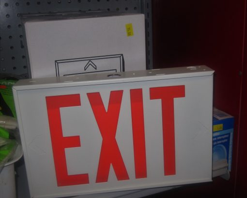 Exit Signs – NEW IN BOX
