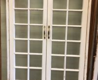 French Doors in Frame – Antique