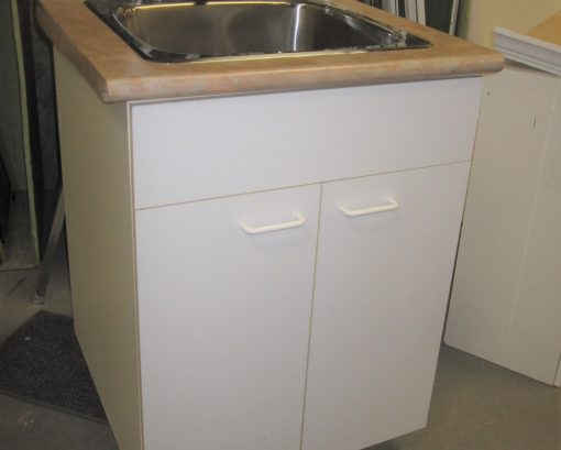 Laundry Sink with Cabinet & Faucet