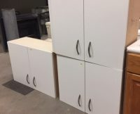 Cabinets Uppers – White