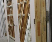Double Closet Doors  in Frame