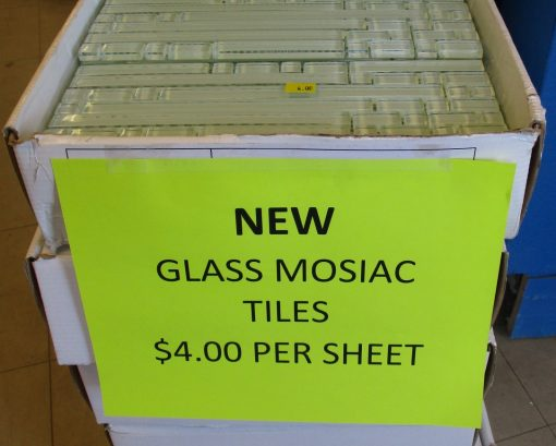 Mosiac Glass Tile Sheets