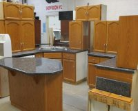 Oak Kitchen With Granite