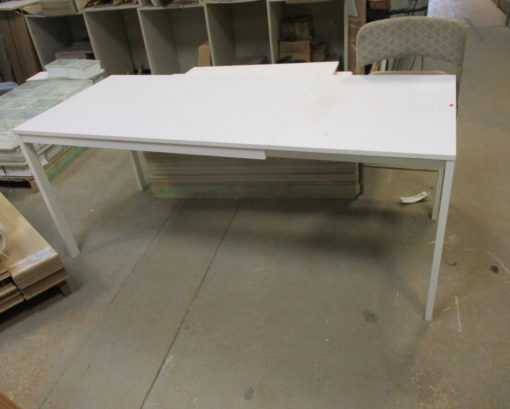 White Display Tables