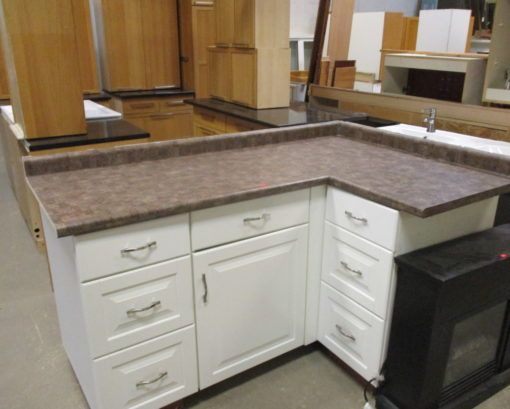 White Cabinets- Bases